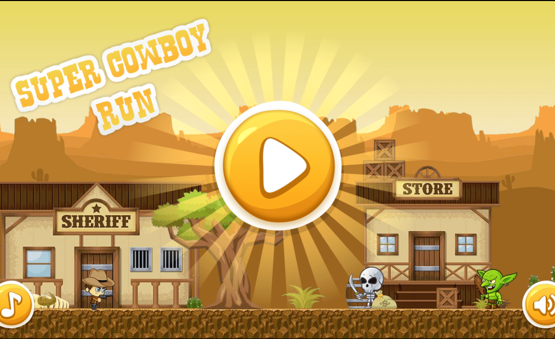 New Game Alert – Super Cowboy Run!